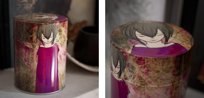 Boîte à thé Sadness
