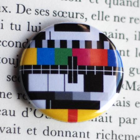 Badge mire, 32mm de diamètre en soldes sur A Little Market