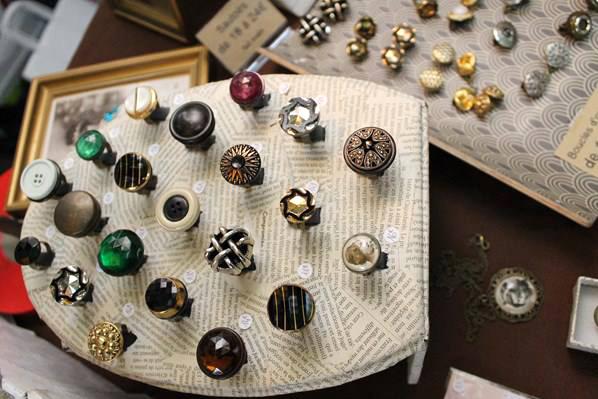 Assuna bagues boutons 1920
