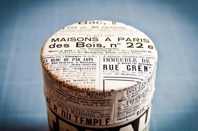 Assuna boîte à thé Cointreau, première de la gamme boîtes à thé vintages