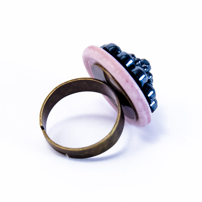 Pink Maryse ring