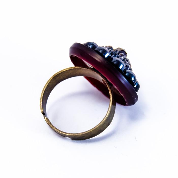 Purple Maryse ring