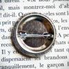 Badge vintage 32mm Bois Flotté dos