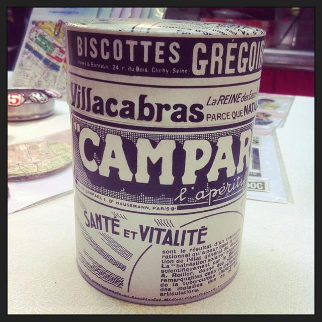 Coup d'Créa, boîte à thé publicités anciennes Assuna
