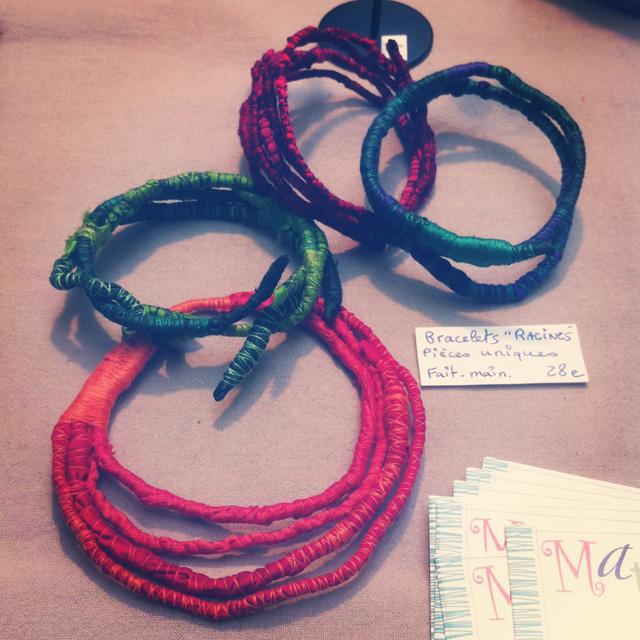 Coup d'Créa, bracelets racines de Matûvû Créations
