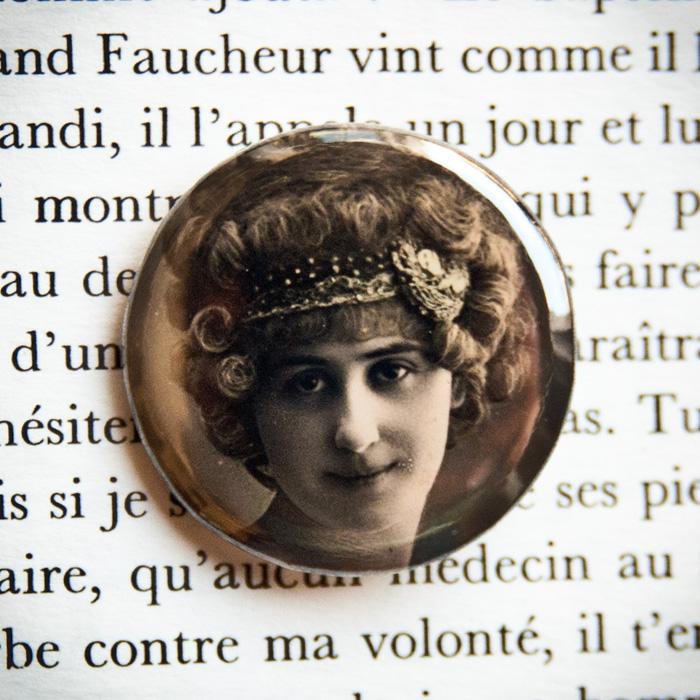 Souhaits sincères pour 1912 – badge vintage 32mm