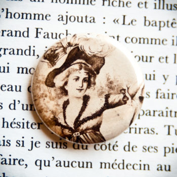 Badge vintage 17 décembre 1903
