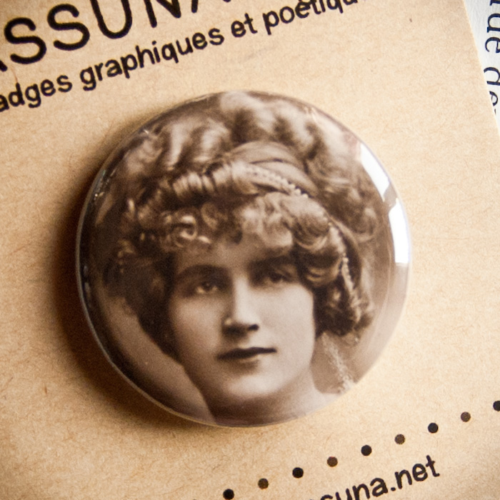 Badge vintage Ton Regard 32mm
