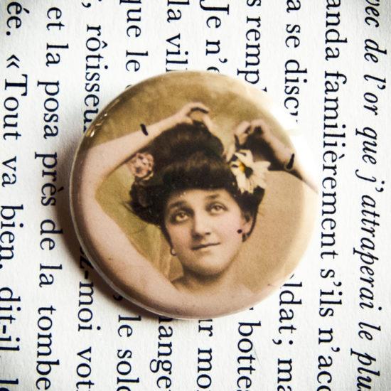 Badge Les Marguerites