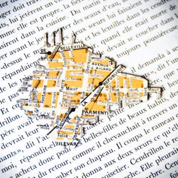 Magnet vintage Parmentier Couronnes St Maur