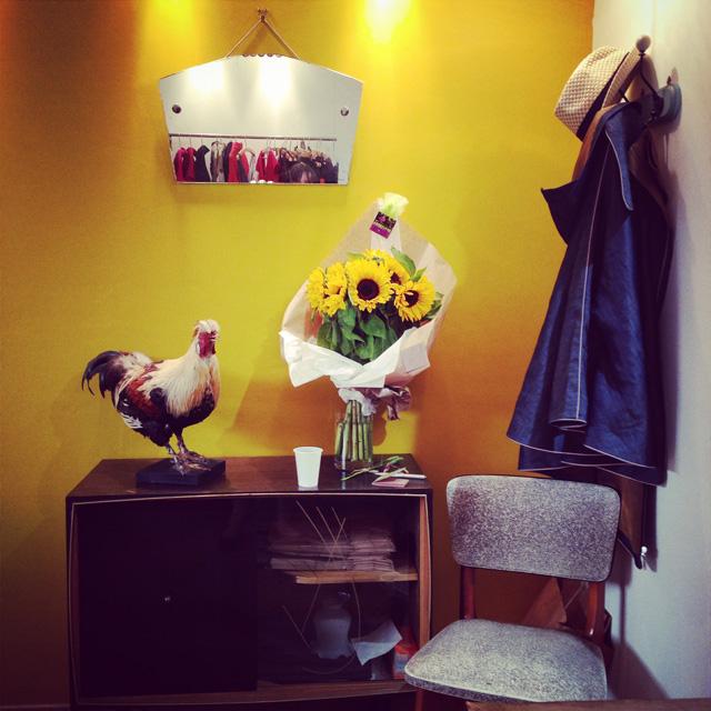Intérieur de la boutique Davaï à Paris