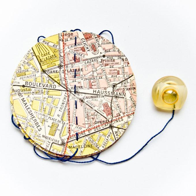 Guirlande vintage rues de Paris