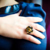 Golden Marcelle ring