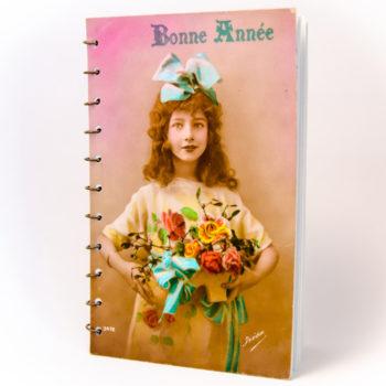 Carnet Jeunes Filles vintage