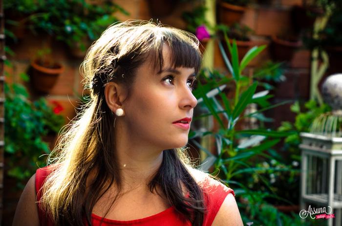 Assuna 2015/2016 - Boucles d'oreilles et barrette boutons anciens - Blanche grand modèle