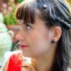 Assuna 2015/2016 - Boucles d'oreilles et barrette boutons anciens - Louise