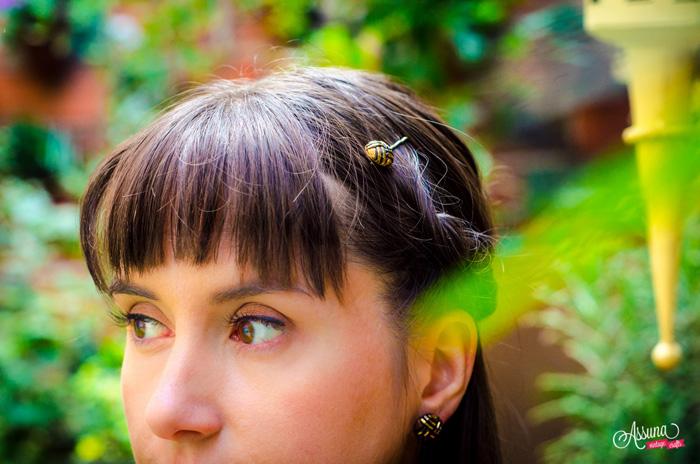 Henriette hair pin