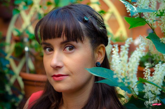Barrette Simone – Boucles d'oreilles Simone