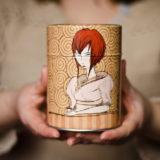 Boîte à thé graphique Tea Lady