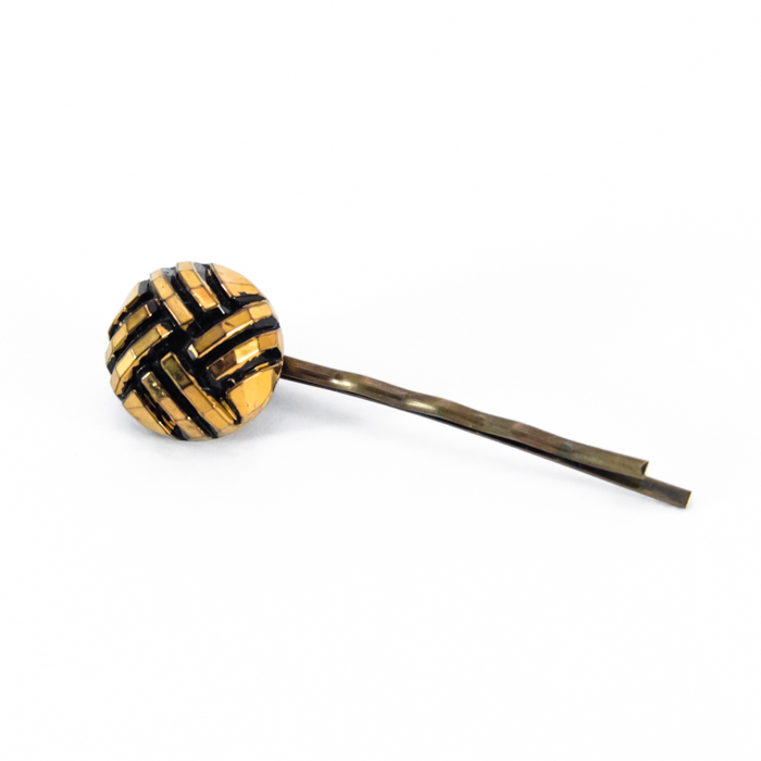 Golden Henriette hair pin