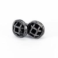 Assuna - Boucles d'oreilles Paulette argent