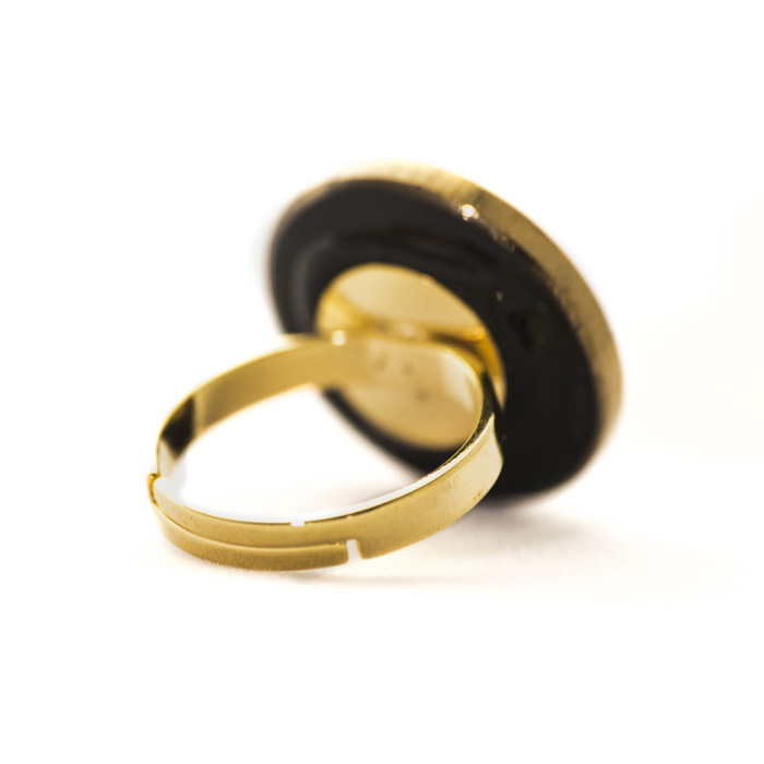 Golden Apolline ring
