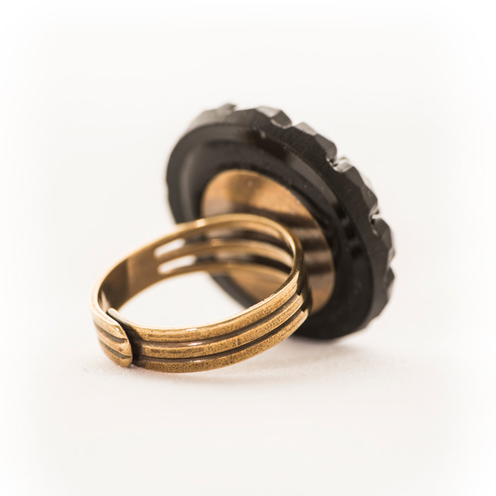 Black Gilberte ring