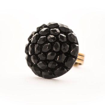 Bague Gilberte noire