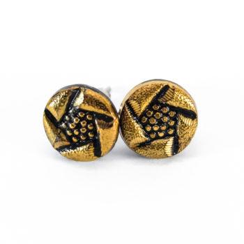 Boucles d'oreilles Arlette dorées