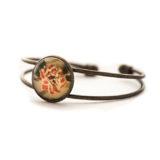 Bracelet vintage Fleur Rose