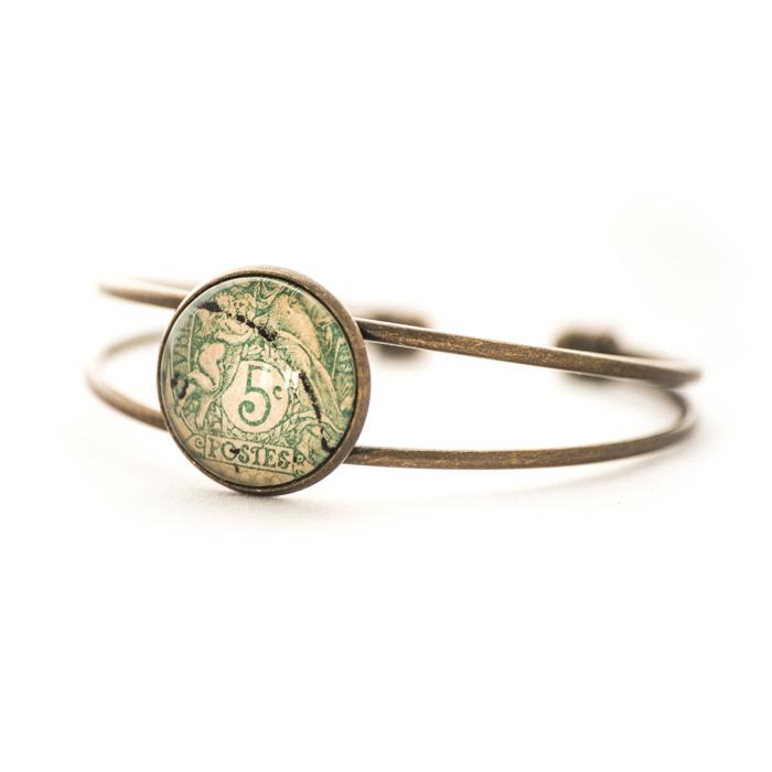 Bracelet Green Stamp