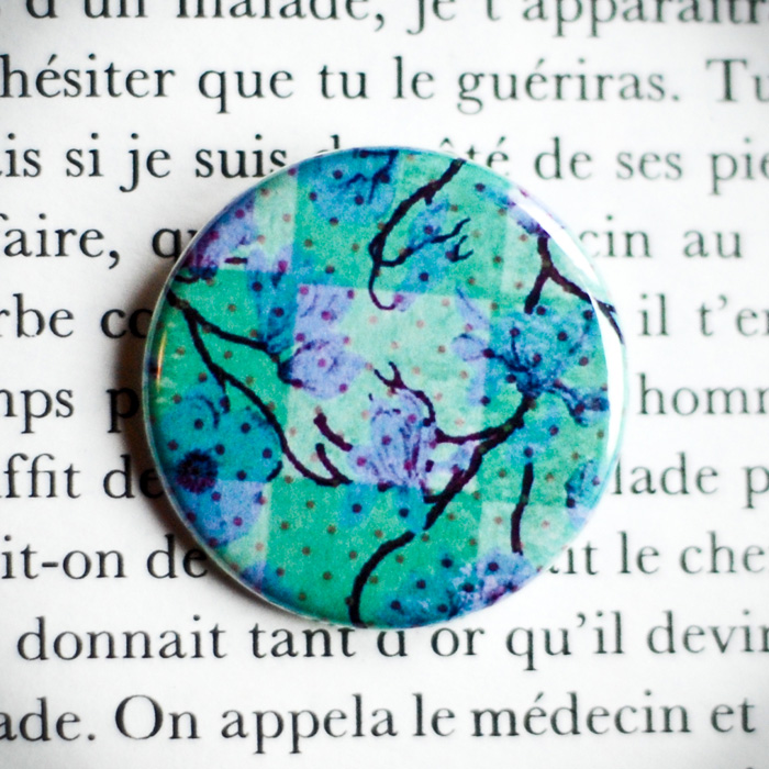 Badge Jardin Secret 1
