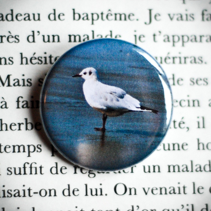 Badge Mouette 32mm