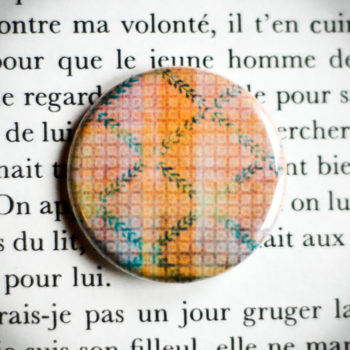 Badge Nappe Jaune 1