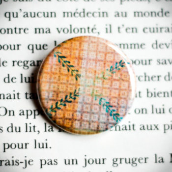Badge Nappe Jaune 2