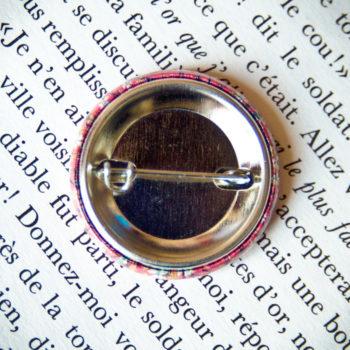 Badge Sakura Fuchsia 1