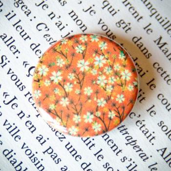 Badge Sakura Orange 1