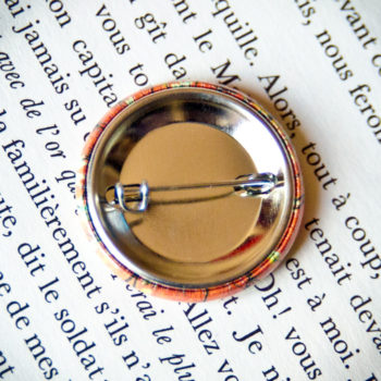 Badge Sakura Orange 2