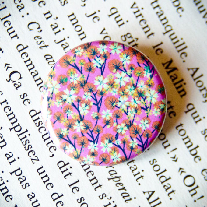 Badge Sakura Rose 1