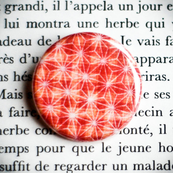 Badge Scintillante