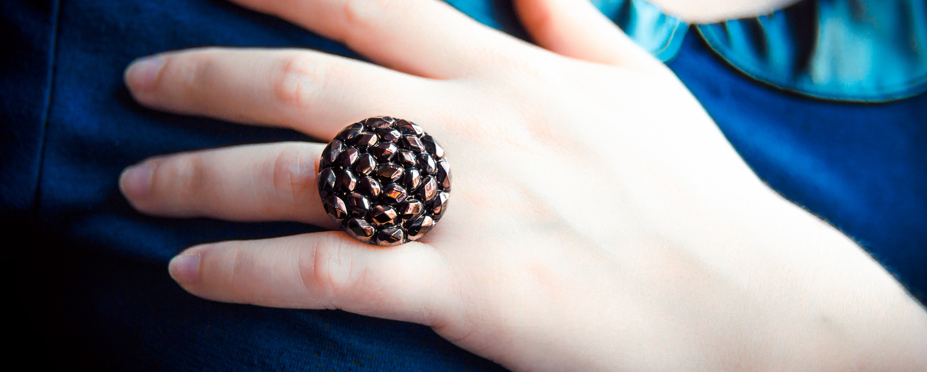 Slider Assuna bijoux vintage bague gilberte bg