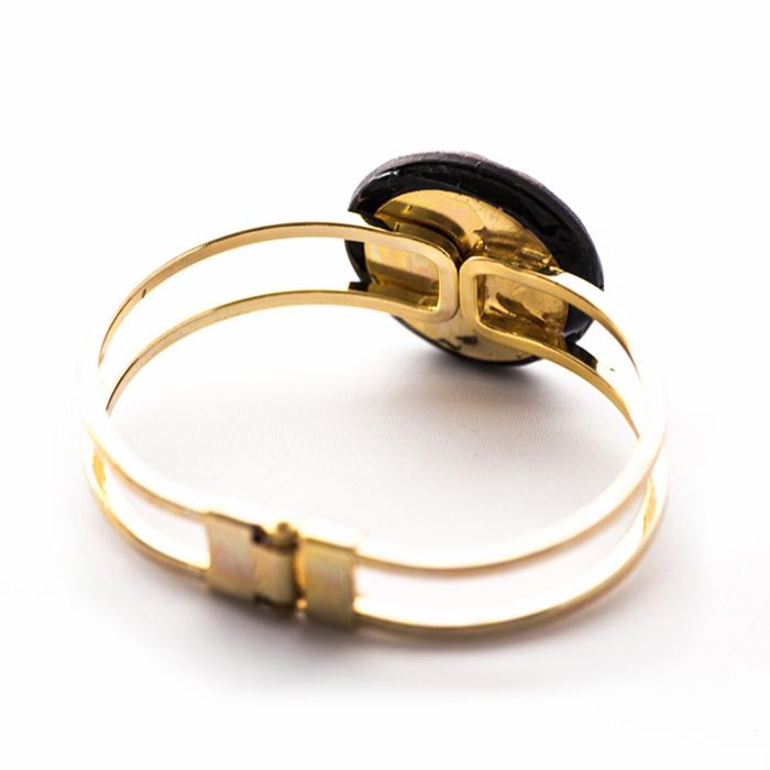 Golden vintage bracelet Lucienne