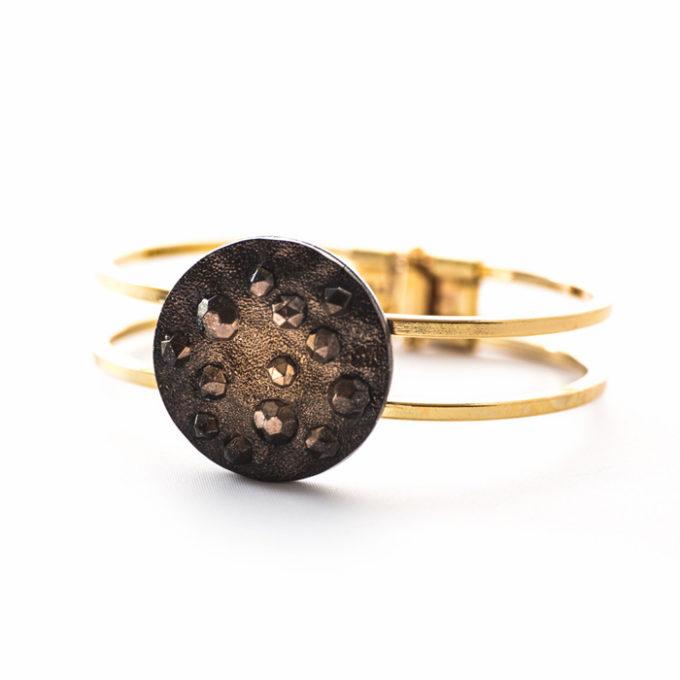 Assuna - Bracelet vintage Lucienne or face