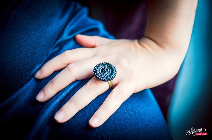 Assuna 2014/2015 – Bague bouton ancien Odette