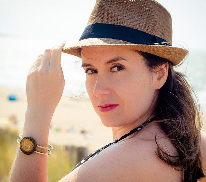 Assuna - Bracelet vintage Céleste bronze - Look