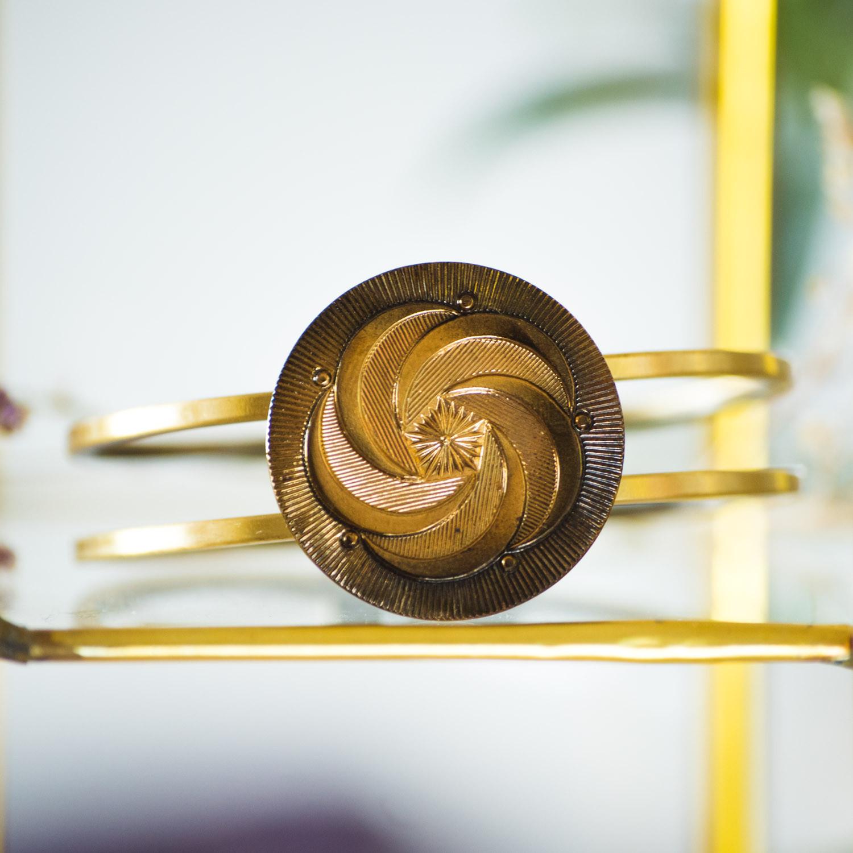Bracelet vintage Céleste bronze