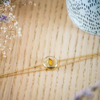 Bracelet double chaîne Irène or