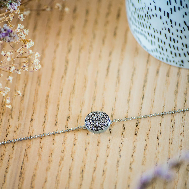 Assuna – Bracelet simple chaîne Aglaé – inspiration vintage