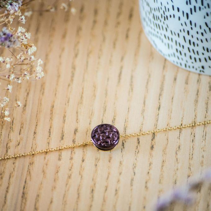 Assuna - Bracelet simple chaîne Cécile - inspiration vintage