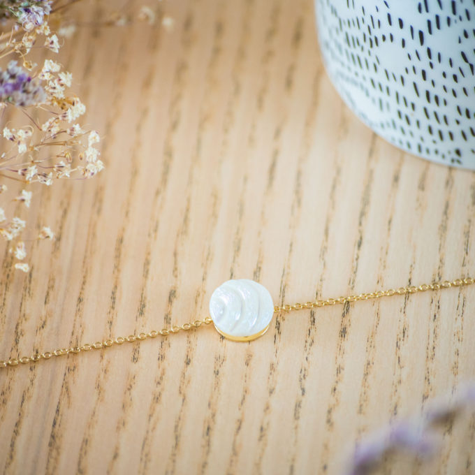 Assuna - Bracelet simple chaîne Diane - inspiration vintage